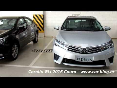Toyota Corolla GLi 2016 + Couro - detalhes - www.car.blog.br
