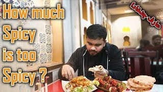 How much Spicy is Extra Spicy | Arif Chatkhara | Food Street |