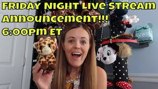 Guess What Day it is?! - Live Stream Announcement 10-4-19 - ResortTV1 - Walt Disney World