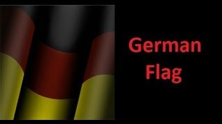 Black Ops 2 Simple German Flag Emblem Tutorial * KnLEmblems