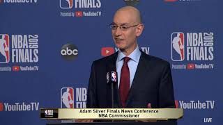 [FULL LIVE] Adam Silver live on Finals News Conference NBA Commissioner | NBA GameTime