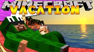 Minecraft Vacation - LITTLELIZARD GOES TRAVELLING!