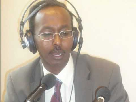 Abdullahi Hussein Maaryaa Barkulan Interviews & the World News live from Somali channel  in London