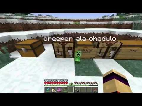 Minecraft Mod Showcase - Mutant Creatures mod Part-2 (SK) HULK Zombie!!!