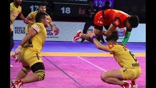 Pro Kabaddi 2018 Highlights - Bengaluru Bulls vs Telugu Titans [Hindi]