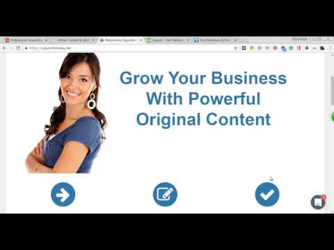 Website Content Writing Part-1 Step By Step Bangla SEO Video Tutorial