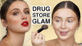 GETTING GLAM ON A BUDGET 💰Drugstore Makeup Tutorial