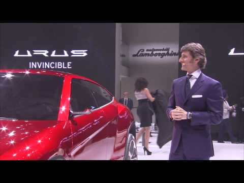 Lamborghini URUS – Beijing Motor Show 2012 Press Conference