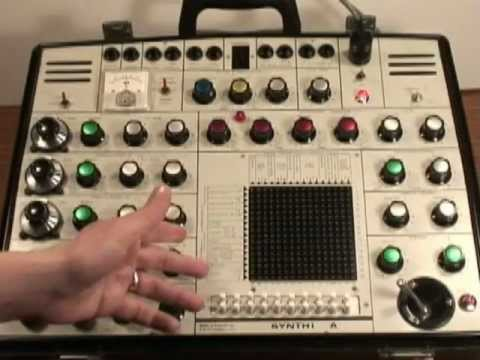 EMS Synthi Technical Overview Music Videos