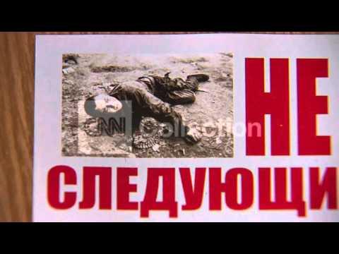 UKRAINE: SEPARATISTS TELL UKRANIAN TROOPS TO LEAVE