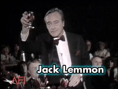 Jack Lemmon Toasts Frank Capra at AFI Life Achievement Award