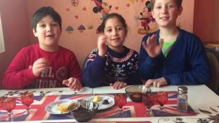 Kids Challenge!Super Challenge!Alcohol, vinegar, salt, eggs!ჩელენჯი!Кидс ЧЕЛЛЕНДЖ!