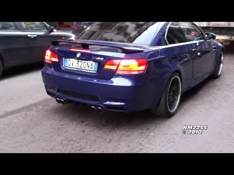 Hamann BMW M3 E93 Exhaust Revving