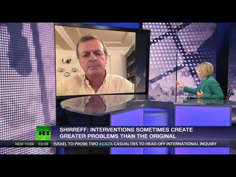 'Intervention effects sometimes worse than original problem- ex NATO top cmdr