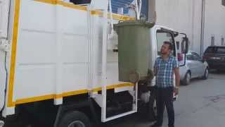 NEW SIDE LOADING GARBAGE TRUCK AYALKA!!