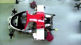 Porsche 962-106b restoration time lapse