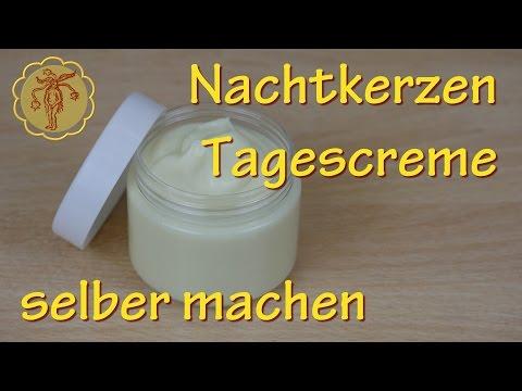 Nachtkerzen-Tagescreme selber machen - für trockene, gereizte Haut