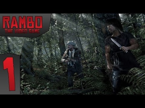 Zagrajmy w Rambo: The Video Game odc.1 Ucieczka