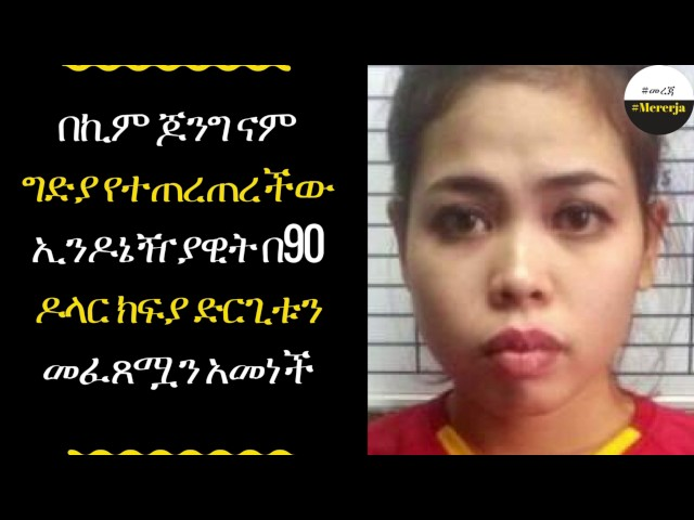 ETHIOPIA - Kim Jong - nam killing Suspect 'was paid $90 for baby oil prank'