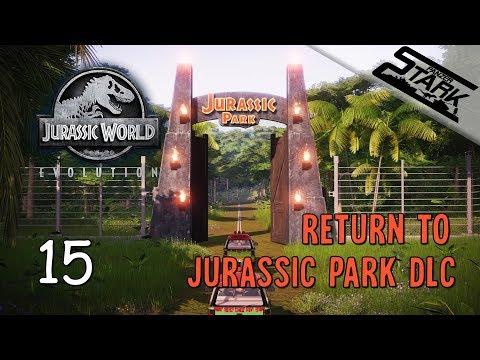 Jurassic World Evolution - 15.Rész (Visszatérünk a Jurassic Parkba!) - Stark LIVE