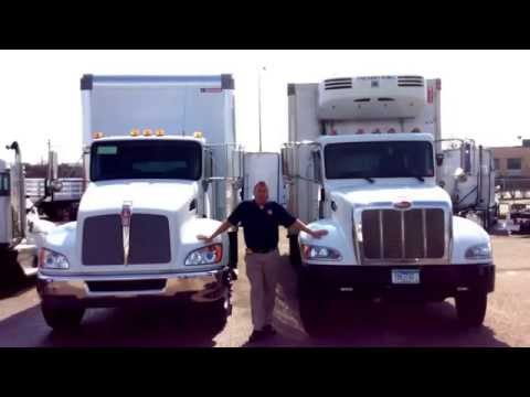 Kenworth T370 Comparison vs. Peterbilt 337