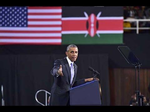 Obama in Kenya: President Barack Obama's speech at Kasarani - full