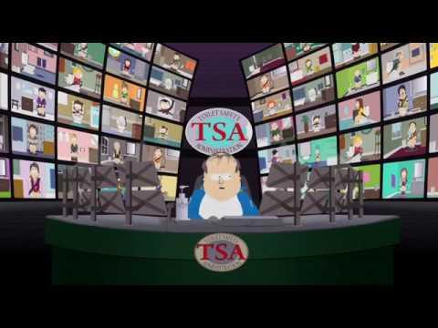 South Park TSA Security Guard