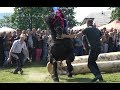 Concurs cu cai de tractiune, Horodnic de Sus, Bucovina - 6 mai 2018