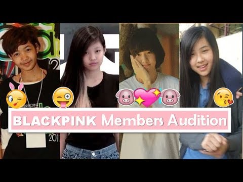 BLACKPINK Members First Audition Pre-Debut