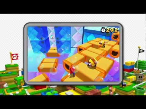 Super Mario 3D Land - Two Trailers for the Nintendo 3DS