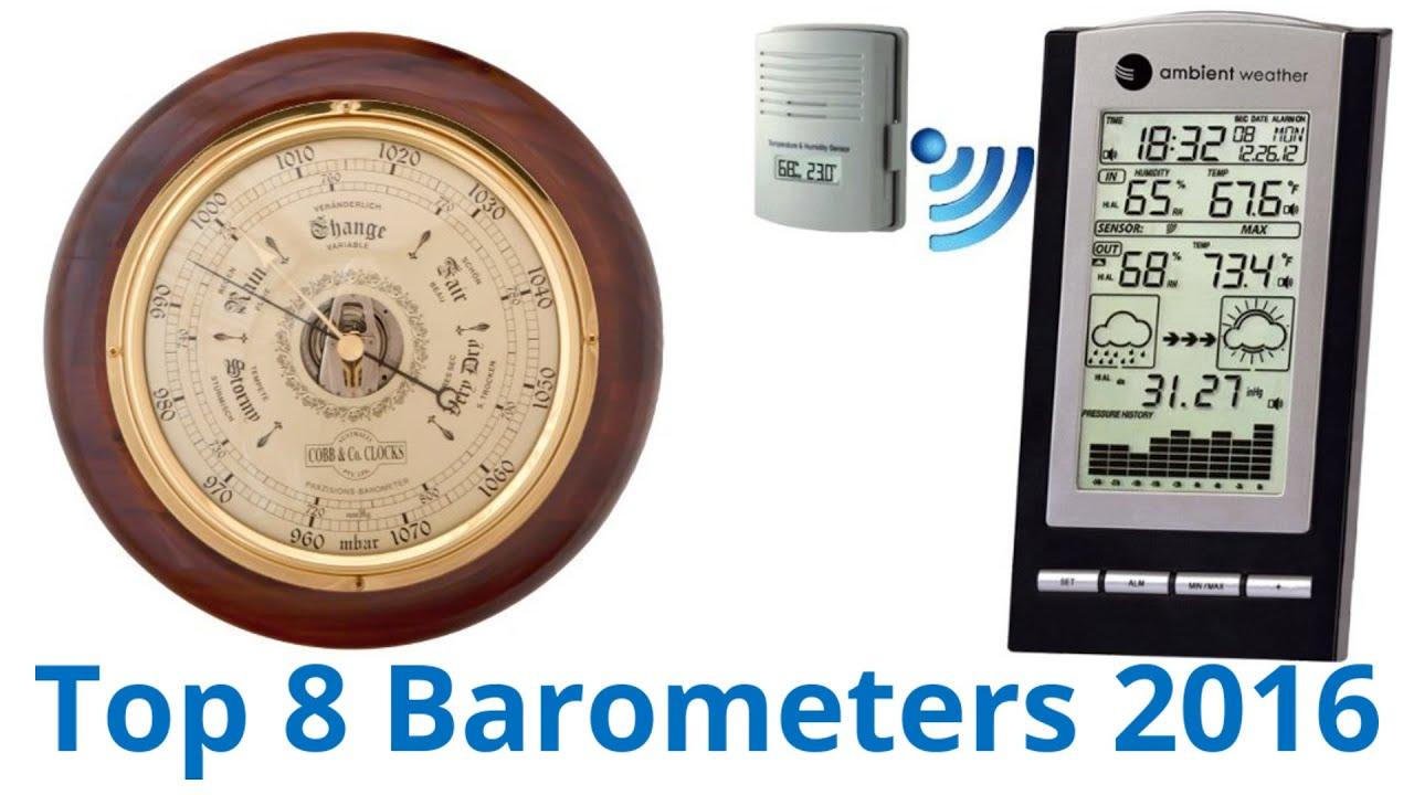8 Best Barometers 2016