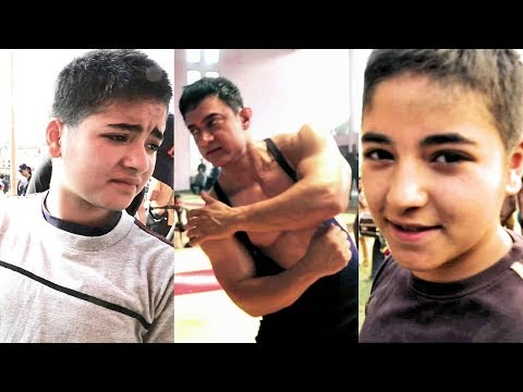 Aamir Khan And Zaira Wasim's ACTION SKILLS For Dangal | Behind The Scenes Of DANGAL thumbnail