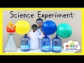 BLOWING UP GIANT BALLOON Baking Soda And Vinegar Experiment Easy Science Experiments For Kids ATN mp3