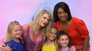 Tiffany Haddish Proves Taylor Swift is Her Friend - Kids Say The Darndest Things