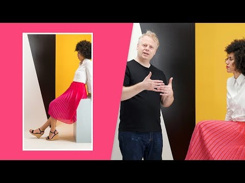 How to design your set and style your model for a fashion e-commerce photoshoot