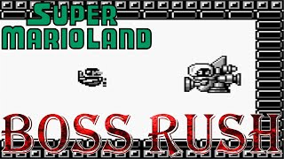 Super Mario Land - Boss Rush (All Boss Fights, No Damage)