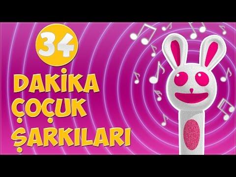 34 dakika çocuk şarkısı | Çizgi Film Tadında Çocuk Şarkıları | Sweet Tuti Bebek Şarkıları | Ninni