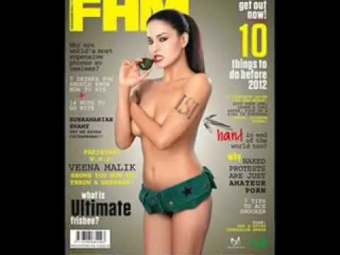 Veena Malik Hot Photos Fhm Sexy.mp4 video