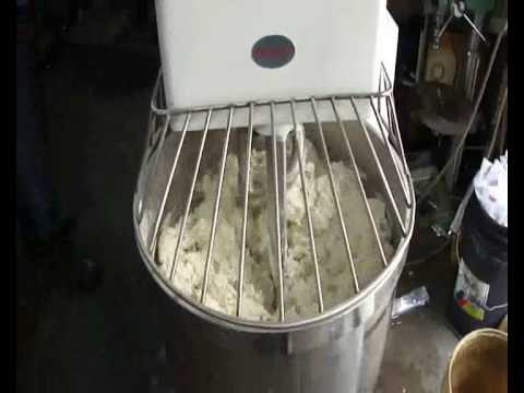 Make Pizza Dough & Roti Canai with Baker Spiral Mixer Dough Hook, Dough Maker