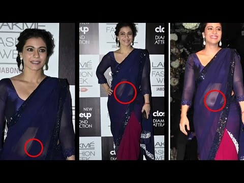 Kajol Hot Deep Navel Show Of On Ramp! video