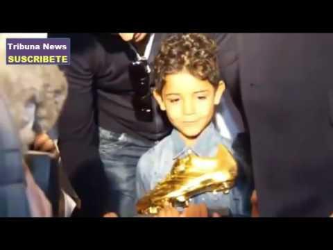 Hijo de Cristiano Ronaldo casi deja caer la Bota de Oro de Europa