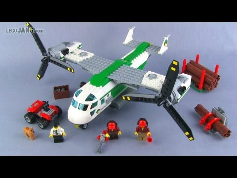 LEGO City Cargo Heliplane 60021 set review!