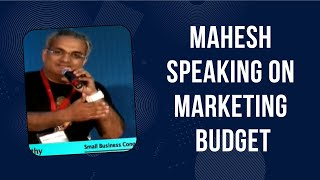 Marketing budget inversely proportionate
