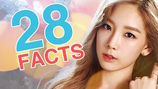 28 Facts about Girls' Generation's Kim Taeyeon l @Soshified