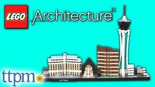 LEGO Architecture Las Vegas from LEGO