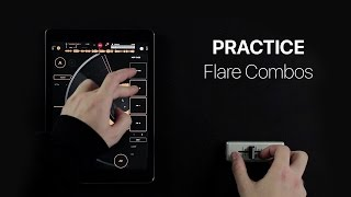 Mixfader & edjing Scratch Practice - Flare combos