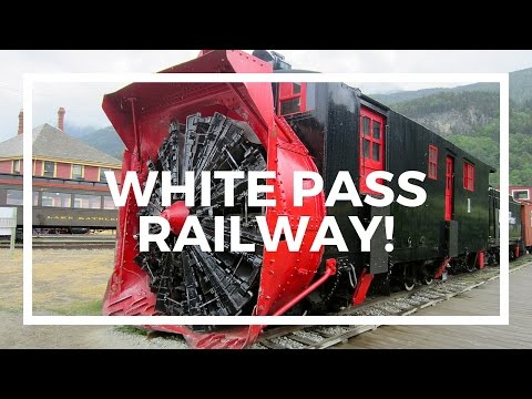 White Pass Railway in Skagway Alaska