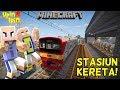 UPIN IPIN BIKIN STASIUN KERETA DURIAN RUNTUH!! - Minecraft Lucu MP3