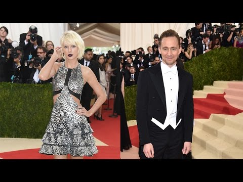 Watch Taylor Swift and Tom Hiddleston Dance at the 2016 Met Gala