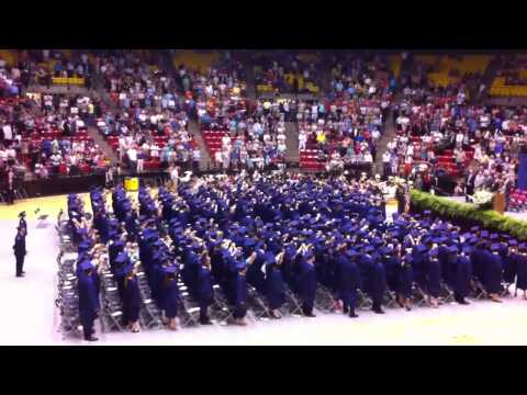 West Monroe high school graduation 2012